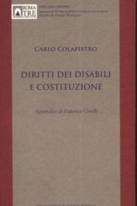1. C. Colapietro, Diritti dei disabili e Costituzione, Editoriale Scientifica, Napoli, 2011.